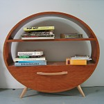 elliptical shelf